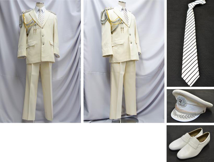 消防礼服 白