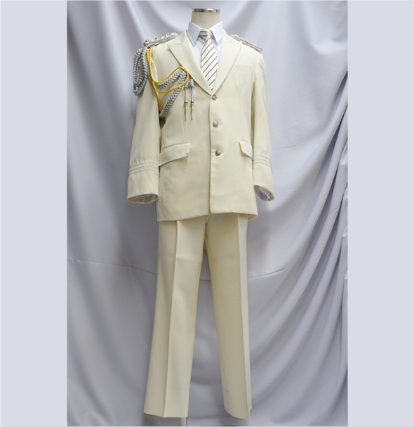 消防礼服 白(正面)
